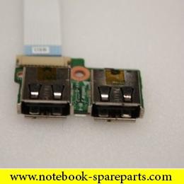 Compaq Presario CQ61 Series USB Port Board W/Cable DA00P6TB6E0 340P6UB0000