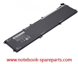 4GVGH Dell Precision 5510 XPS 15 XPS 15 (9560) Series laptop battery 84WH 1P6KD 01P6KD 11.4V