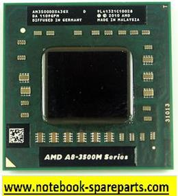 CPU AMD A8-Series A8-3500M  AM3500DDX43GX
