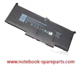 Battery for Dell Latitude 7280, Latitude 7290, Latitude 7380, Latitude 7390, Latitude 7480, Latitude 7490 7.6V 60Whr 4 Cell Battery DM3WC 0DM3WC 2X39G