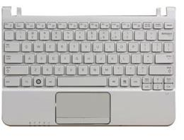 KEYBOARD SAMSUNG NC110 WHITE      (C SHELL)