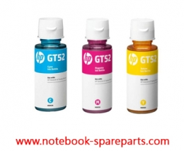 INK HP GT52 CYAN-MAJENTA-YELLOW ORIGINAL