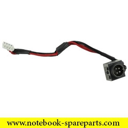 Laptop DC power jack cable K000058030 For Toshiba X200 X205