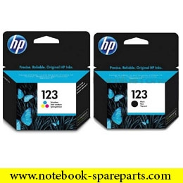 INIK HP 123 BLACK ORIGINAL