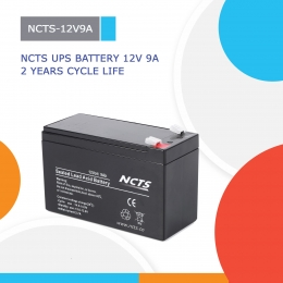 NCTS UPS BATTERY 12V 9A