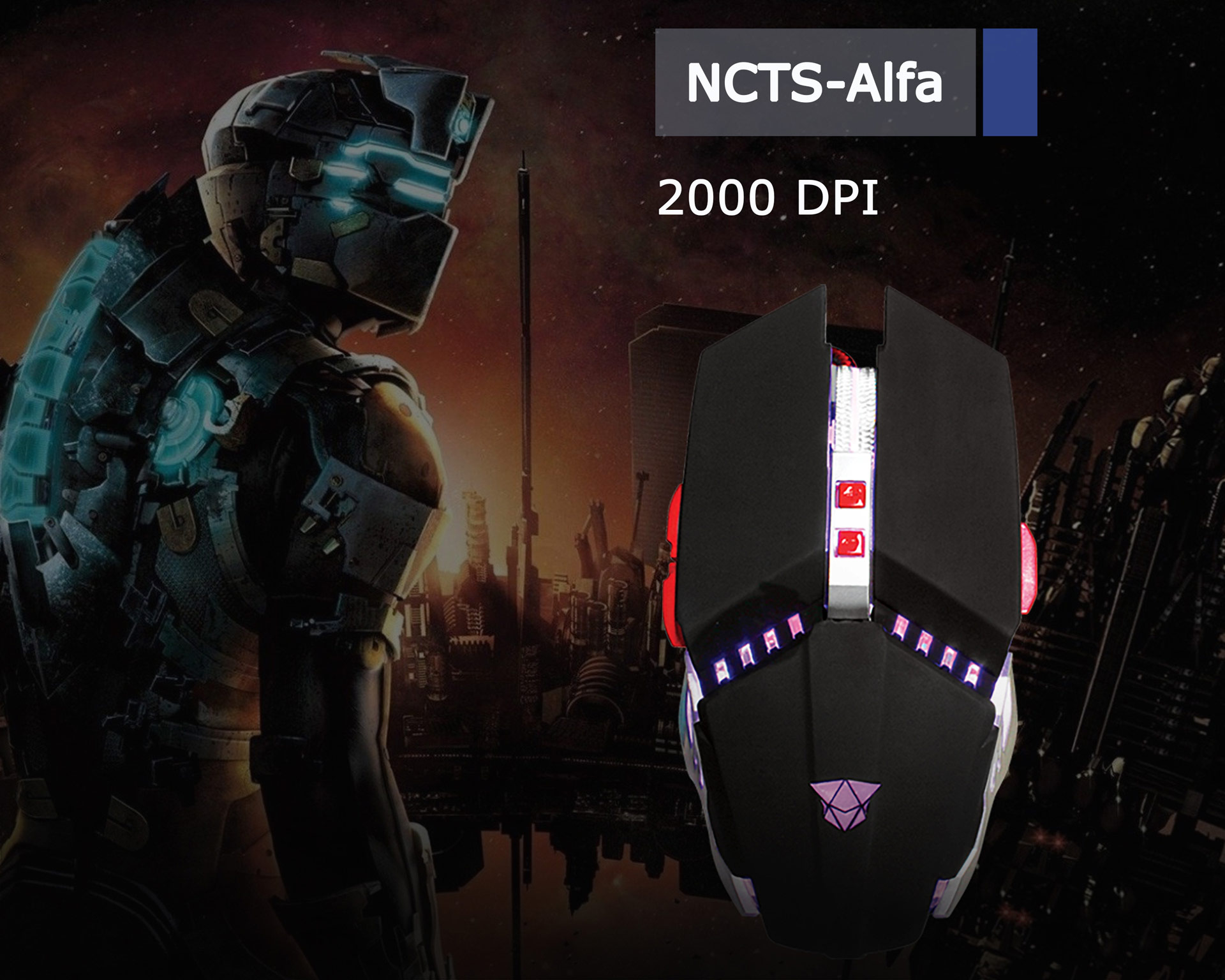 NCTS ALFA GAMING MOUSE