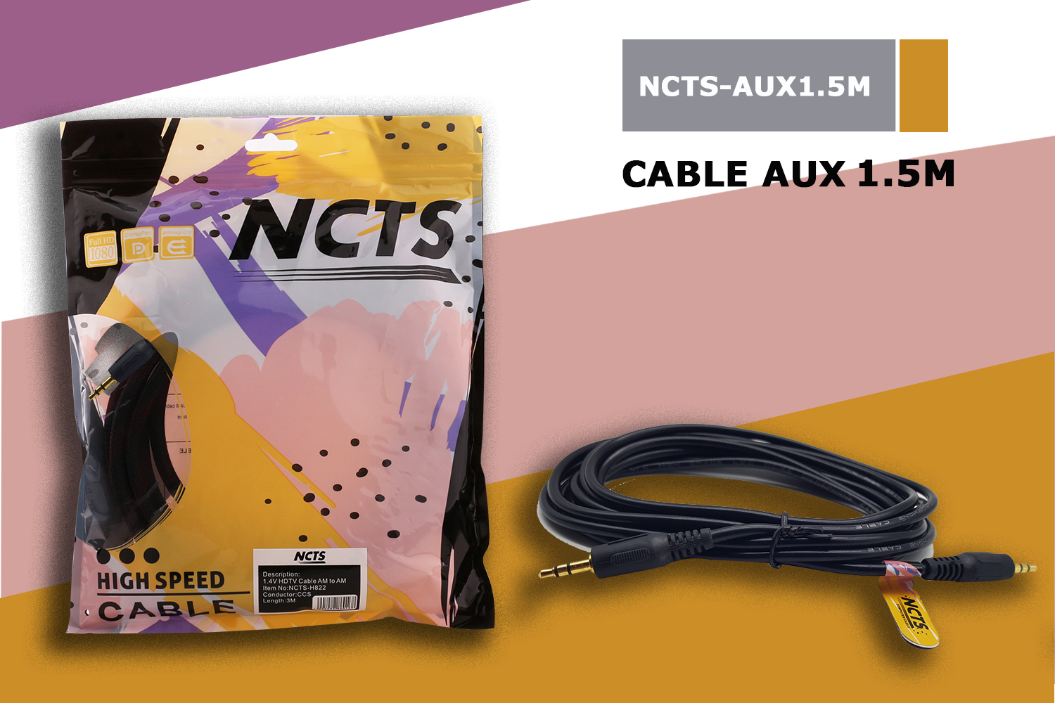 NCTS AUX CABLE 1.5M