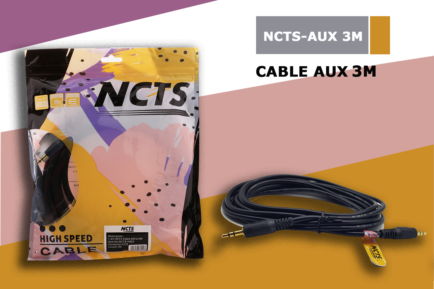 NCTS AUX CABLE 3M