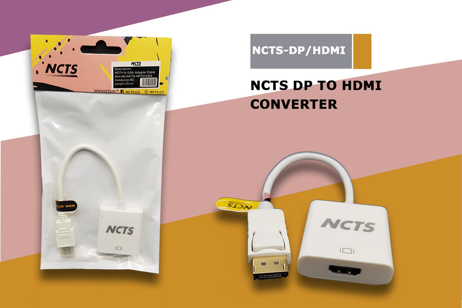 NCTS DISPLAY TO HDMI PORT