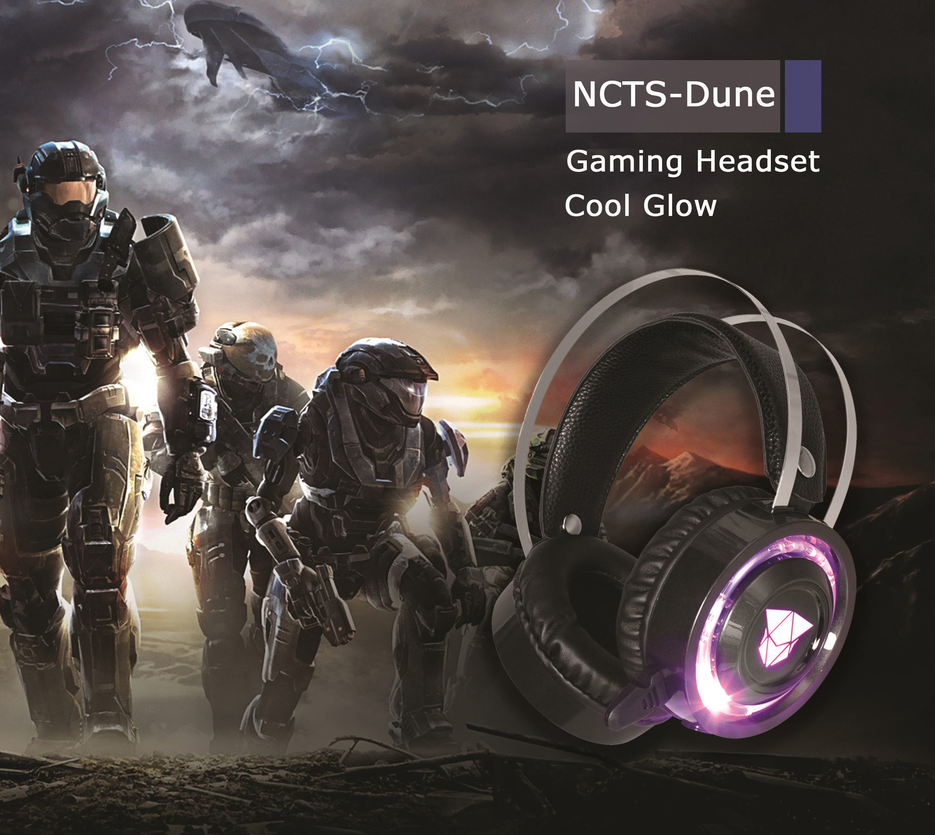 NCTS DUNE GAMING HEADSET