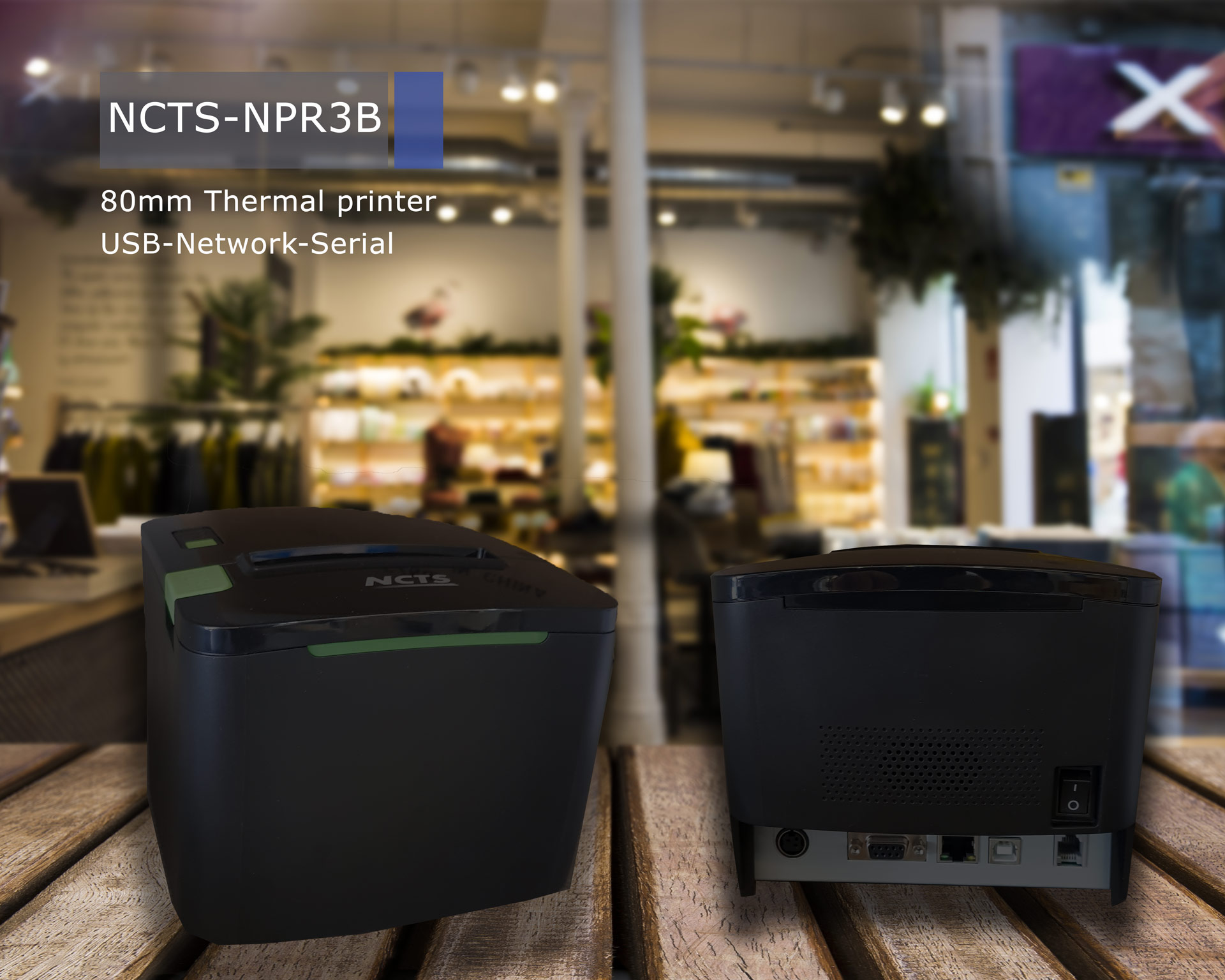 NCTS RECIPT RINTER NCTS-NPR3B