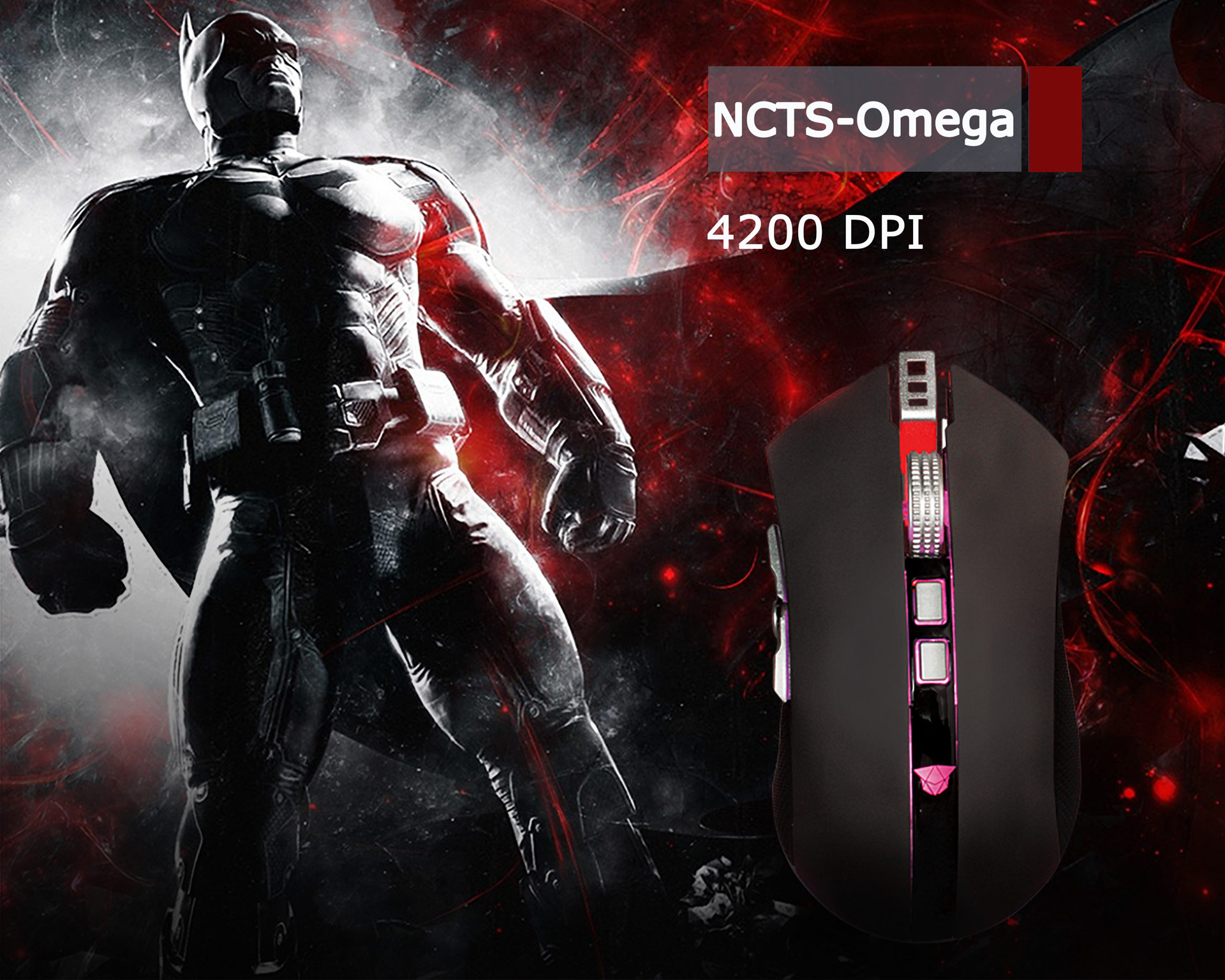 NCTS GAMING MOUSE OMEGA