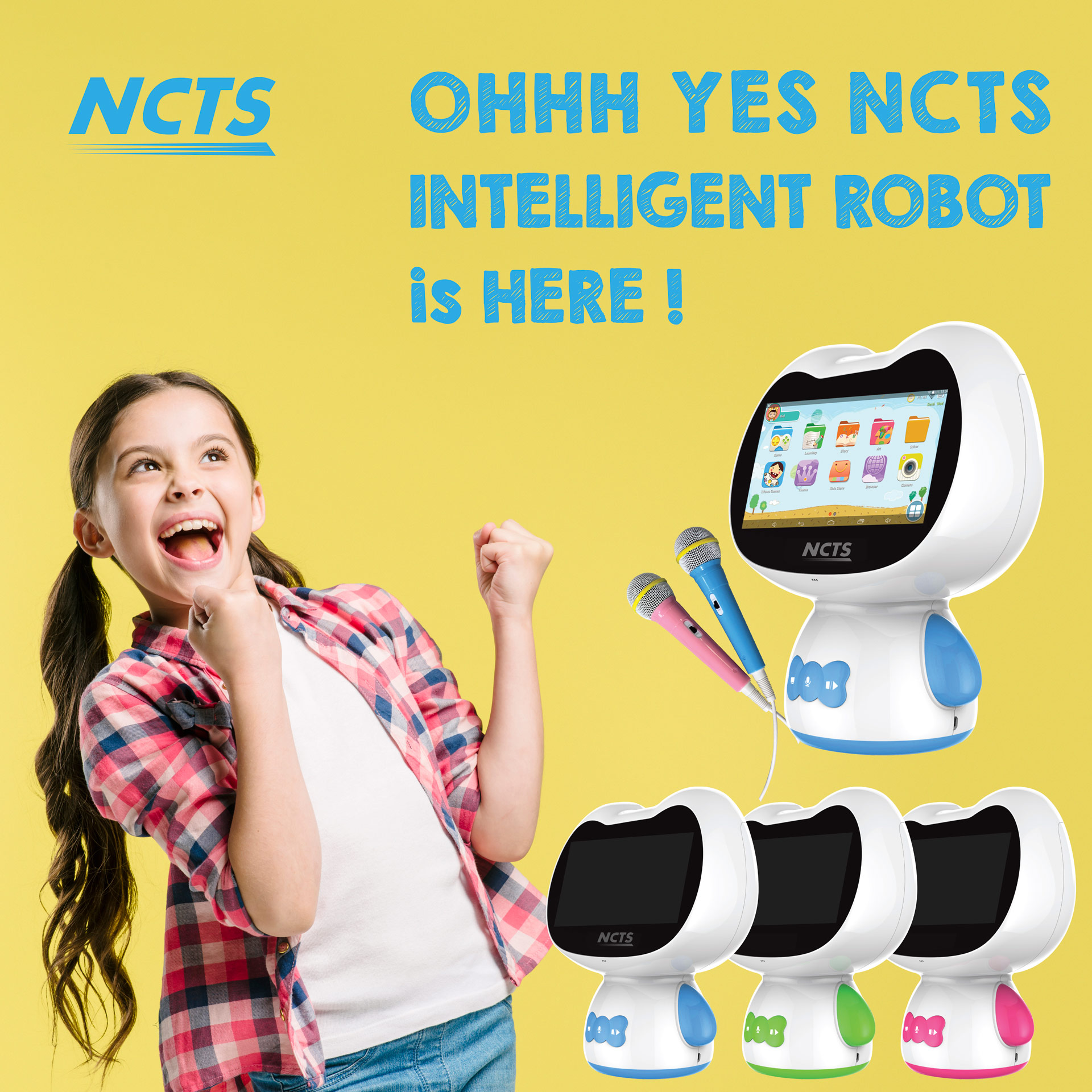 NCTS INTELLIGENT ROBOT ROBO1