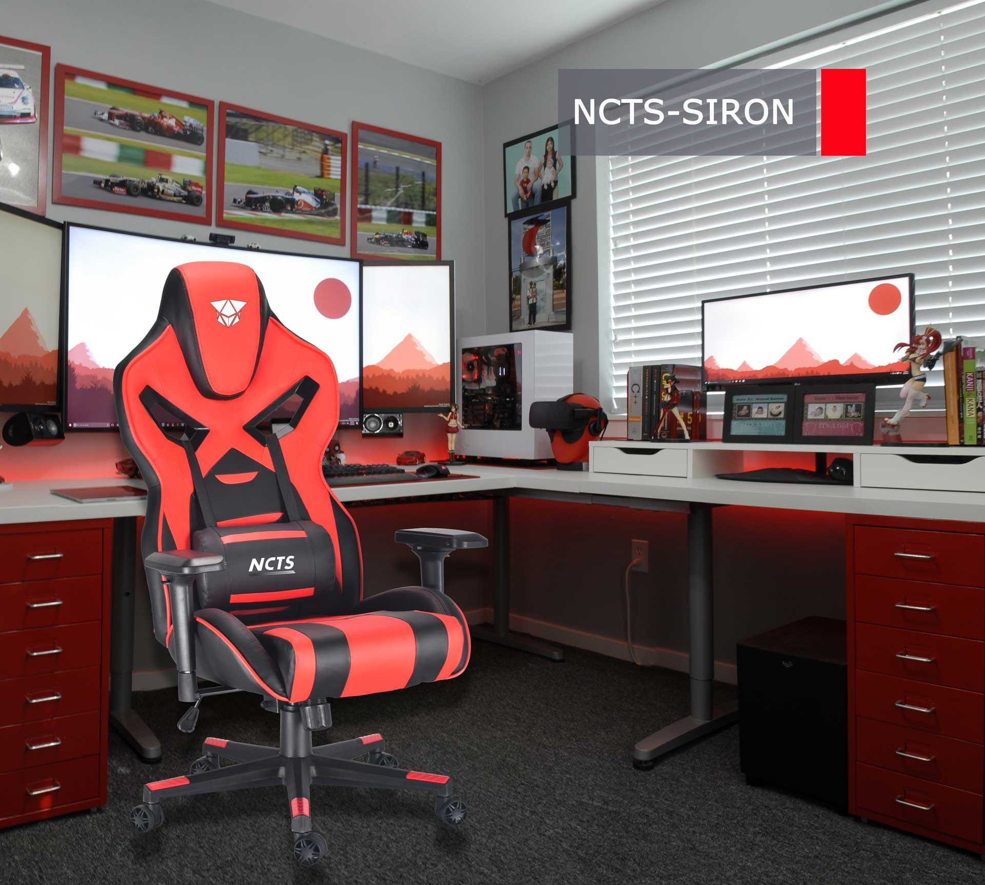 NCTS GAMING CHAIR SIRON