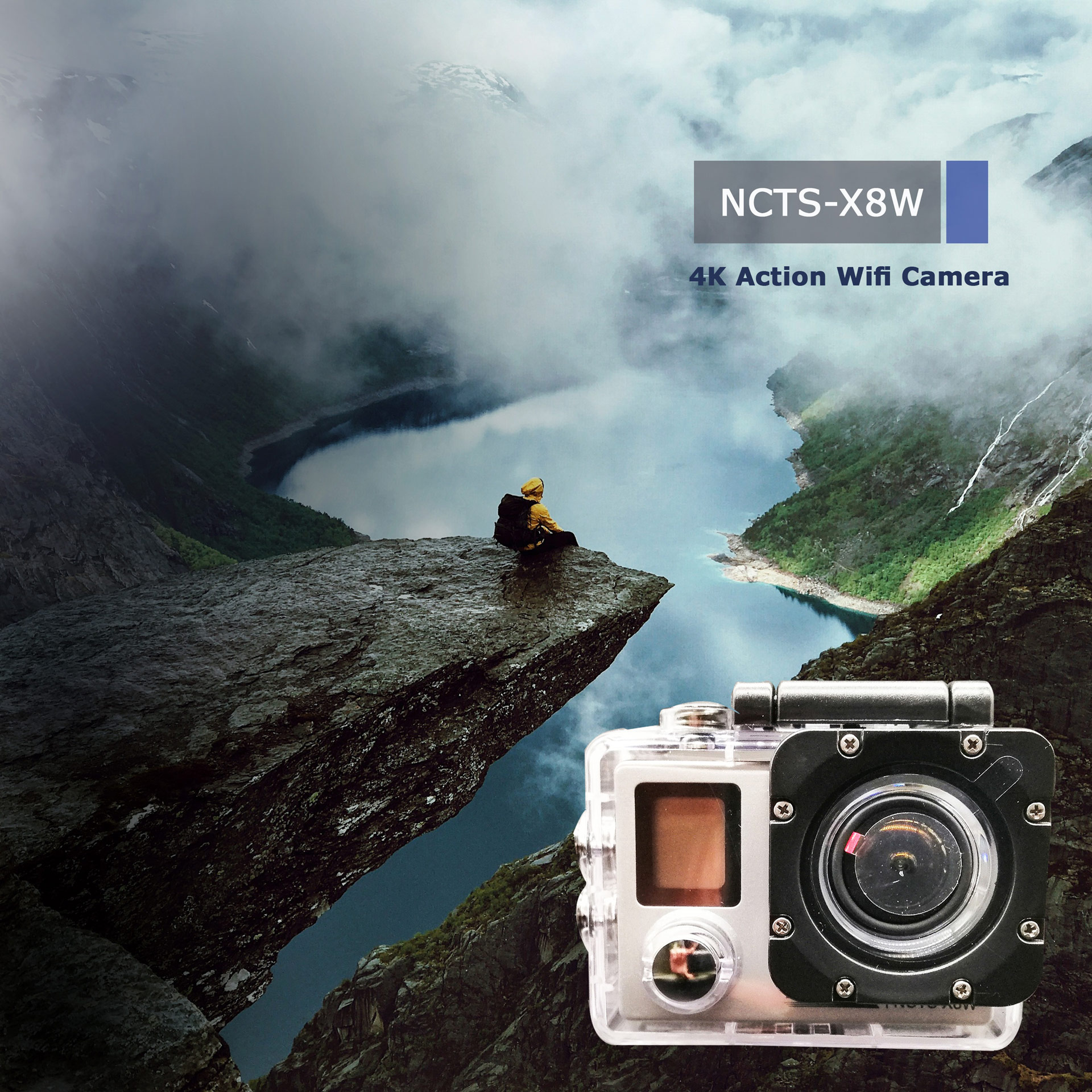 NCTS 4K SPORT CAMERA X8W