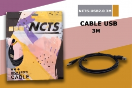 NCTS CABLE USB 2.0 3.0M