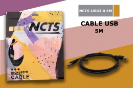 NCTS CABLE USB 2.0 5.0M