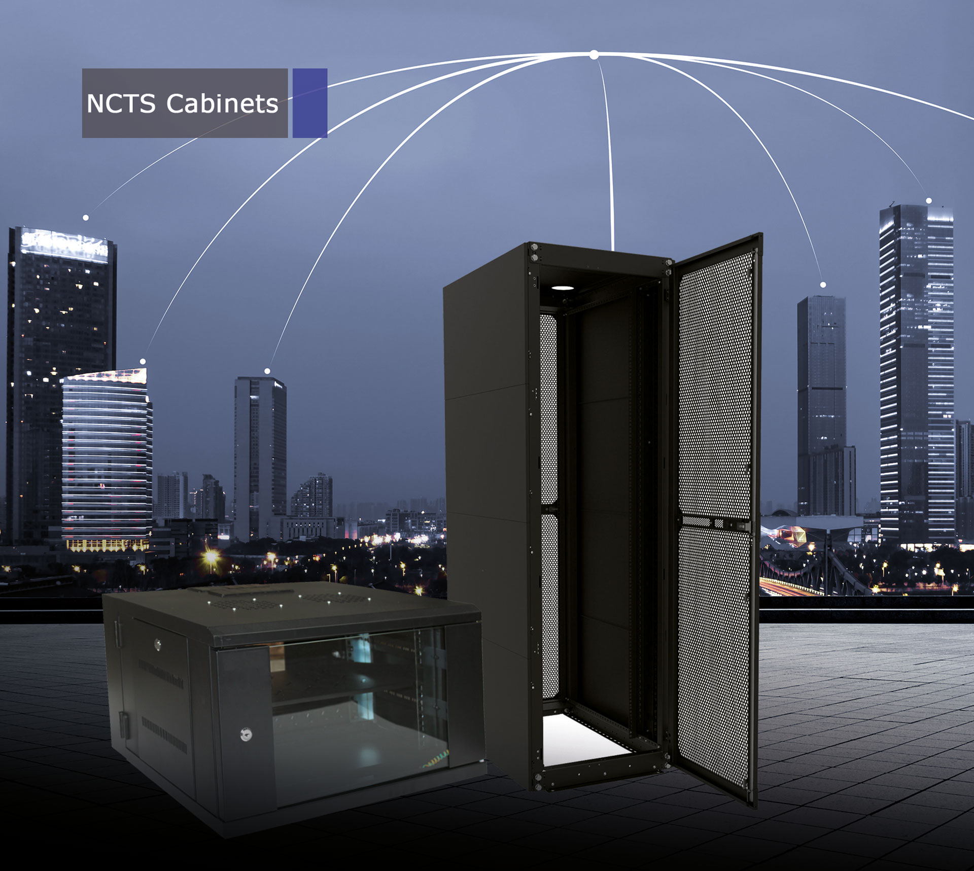 NCTS CABINET 9U 600*450