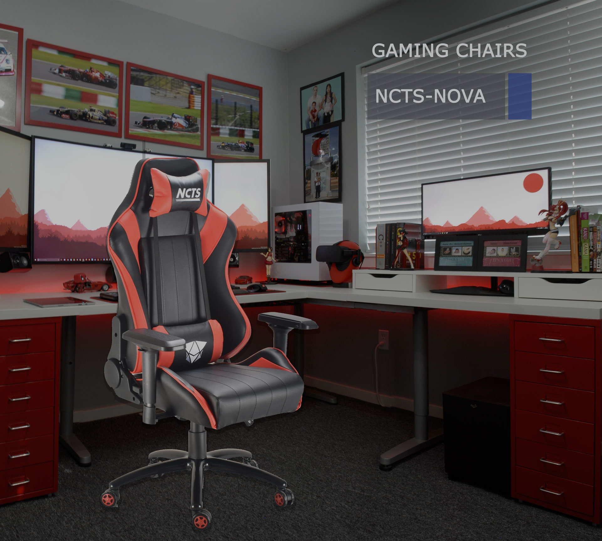 NCTS GAMING CHAIR NOVA           (1 YEAR WARRANTY)