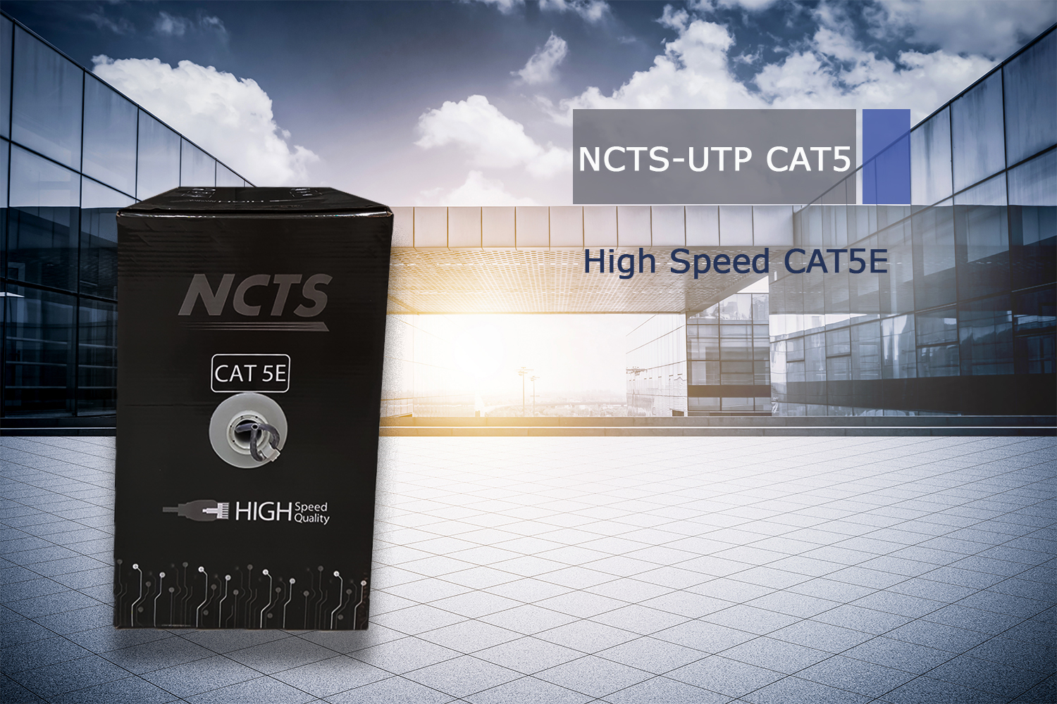 NCTS CAT 5E UTP HIGH SPEED CABLE 305M