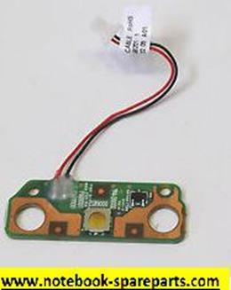 Toshiba Satellite C655D power button board w/ cable